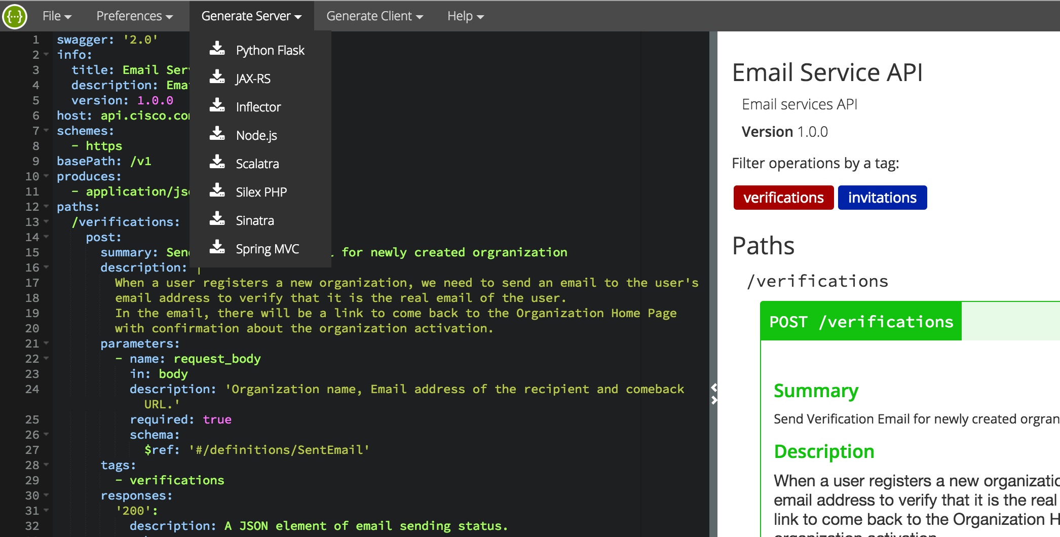Using Swagger to do Document Driven Development